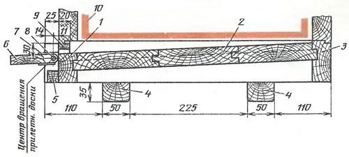 Дно многокорпусного улья (т.п. 3.808-2)